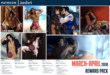 March-April Reward Pack Patreon by JoanDark