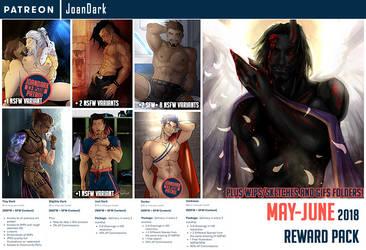 May-June Reward Pack Patreon by JoanDark