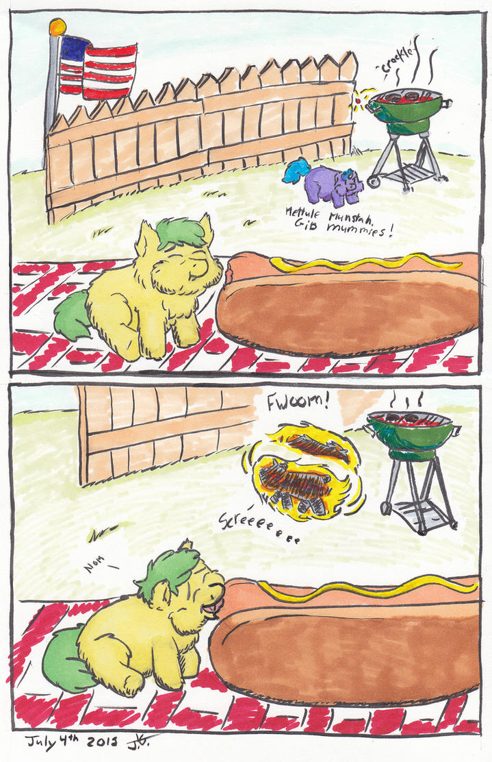 1 hour FluffComics July 4th by killedbycreatures