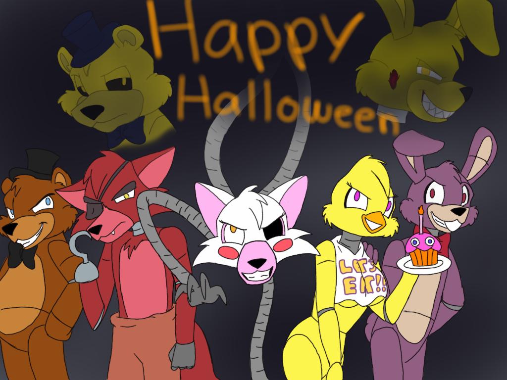 Tony Foxy: FNAF's Happy Halloween (Tony Crynight) By OptimusPrimeTFR