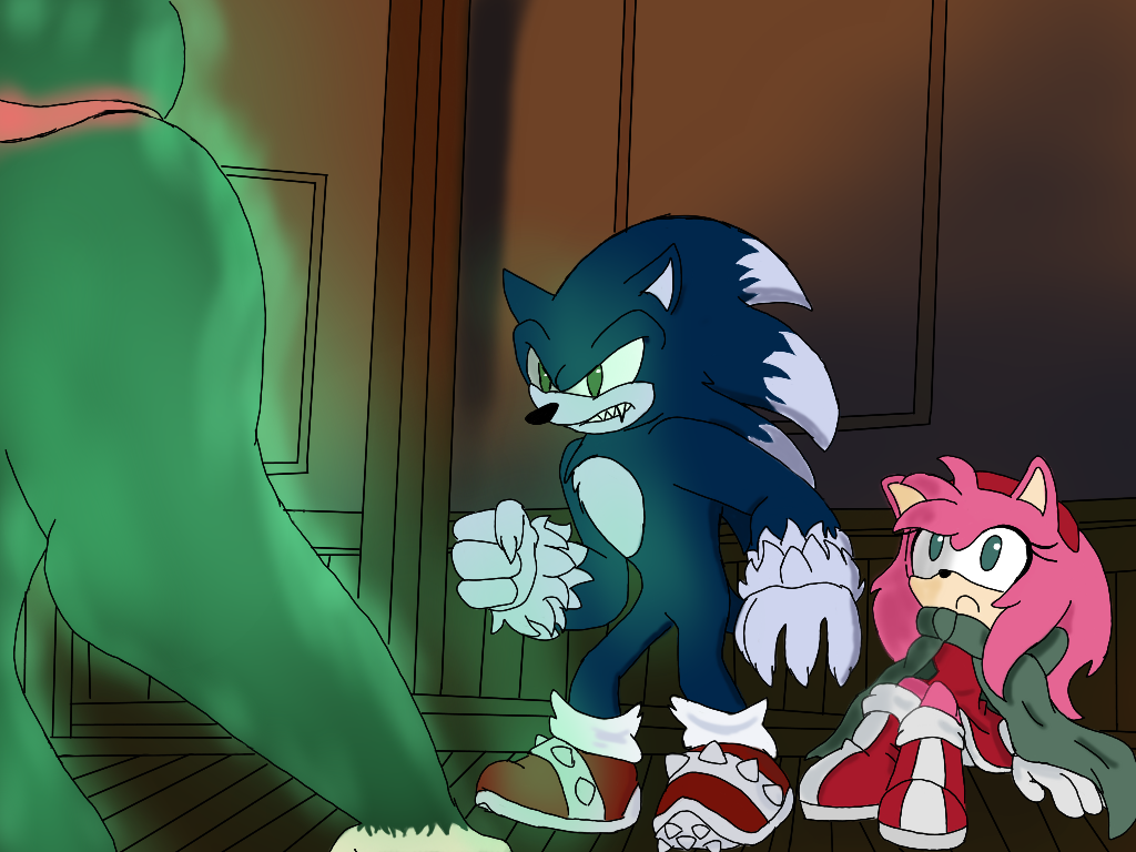 Night of the Werehog: Amy and Cherry part 2 by ...