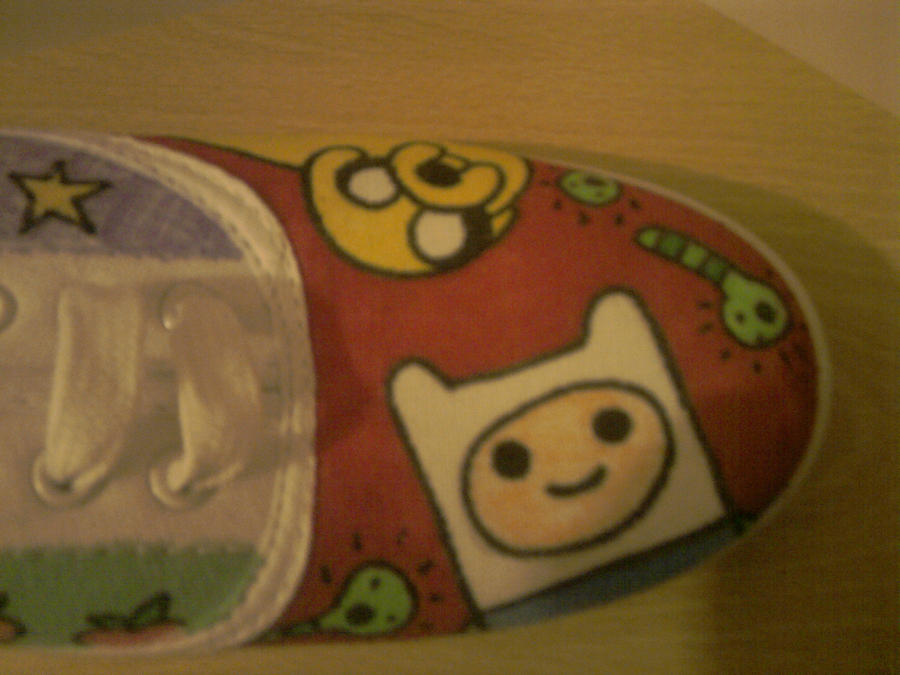 Adventure Time Shoe by Dooficles