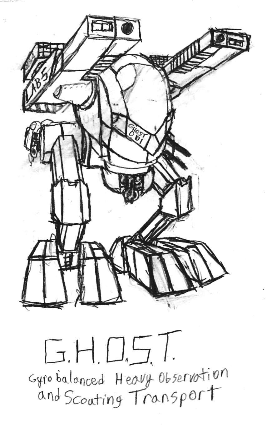 GHOST redesign by IrateResearchers