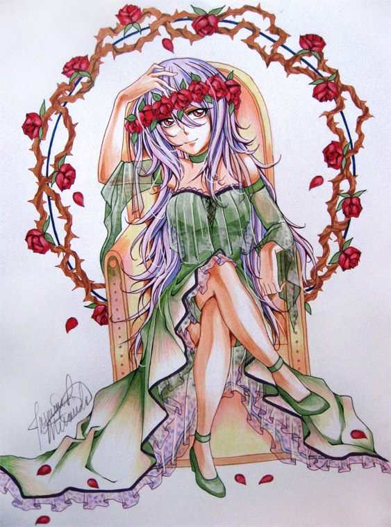 FLOWER GIRL by LightSilverstar