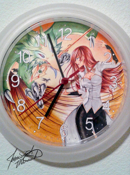 Jozetta Wall Clock by LightSilverstar