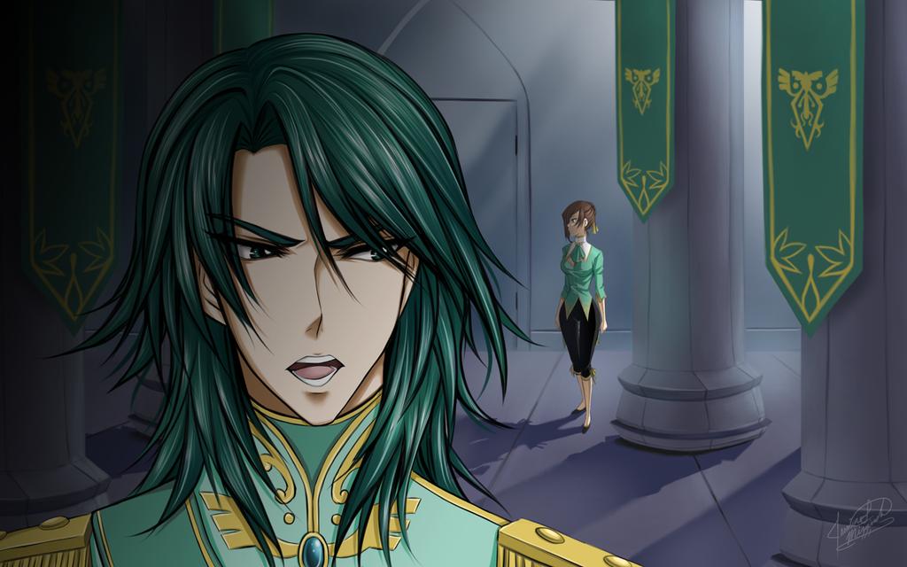 King Lexon and Jozetta - Too Dangerous by LightSilverstar