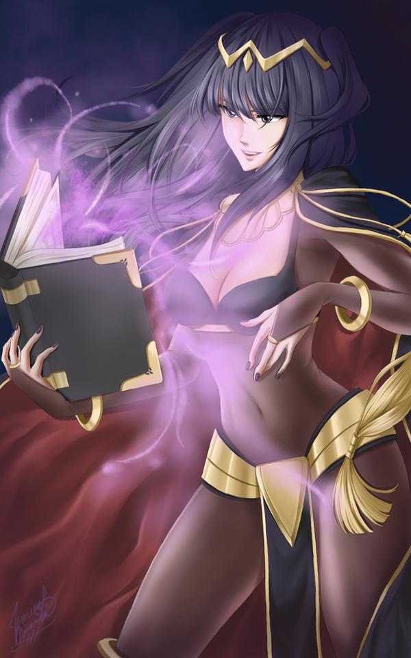 Fire Emblem - Tharja by LightSilverstar