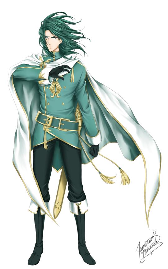 King Lexon - Pose 2 by LightSilverstar