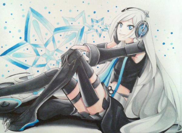 Vocaloid - Zhanyin by LightSilverstar