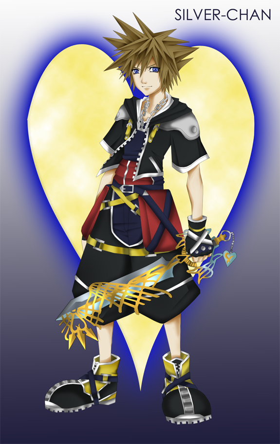KH2 - Sora by LightSilverstar