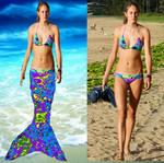 Shailene Woodley Mermaid Transformation