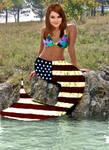 Shailene Woodley Mermaid Manip