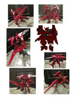 Gunpla Custom// Gundam F-13 Beleth Arche Blood by convoy00