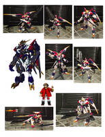 Gunpla Custom// GF-08 Barbatos Lupas Rex Einherjar by convoy00
