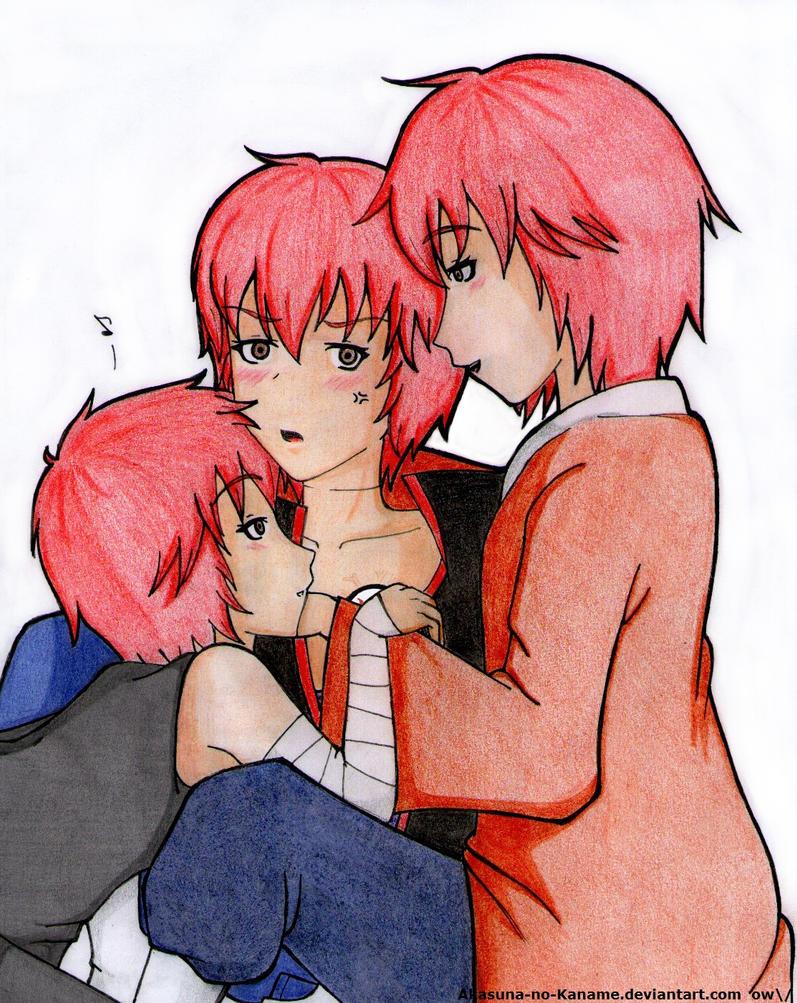 ...Another kind of Hug~ by Akasuna-no-Kaname
