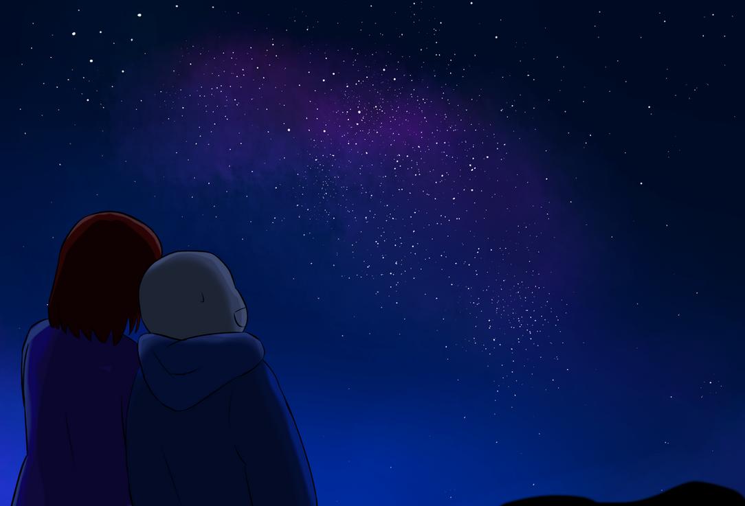 Undertale - Starry Sky by Shayromi