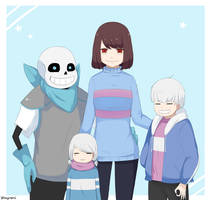 Frans Family - Underswap 1 by Shayromi