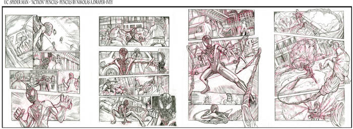 UC: SPIDER MAN ACTION PAGES
