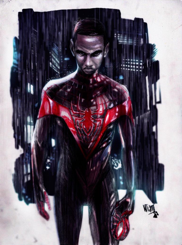 Miles Morales-Ultimate Spider-Man by NikolasDraperIvey on ...