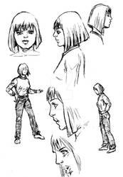 Danica sketch 2