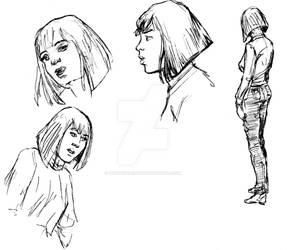 Danica sketch 1