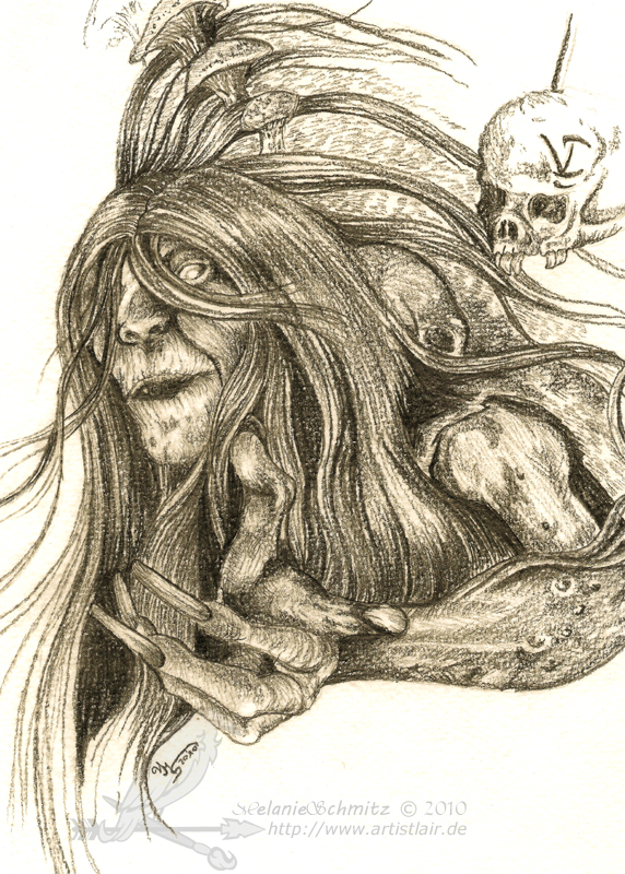 Baba Yaga from Castlevania LoS by Nebelschwinge