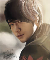 Bi Rain Painting by CassPoon
