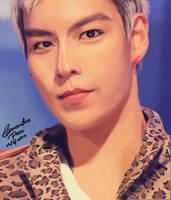 BIGBANG T.O.P. Painting V.2 by CassPoon
