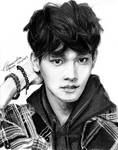 EXO Chen Drawing