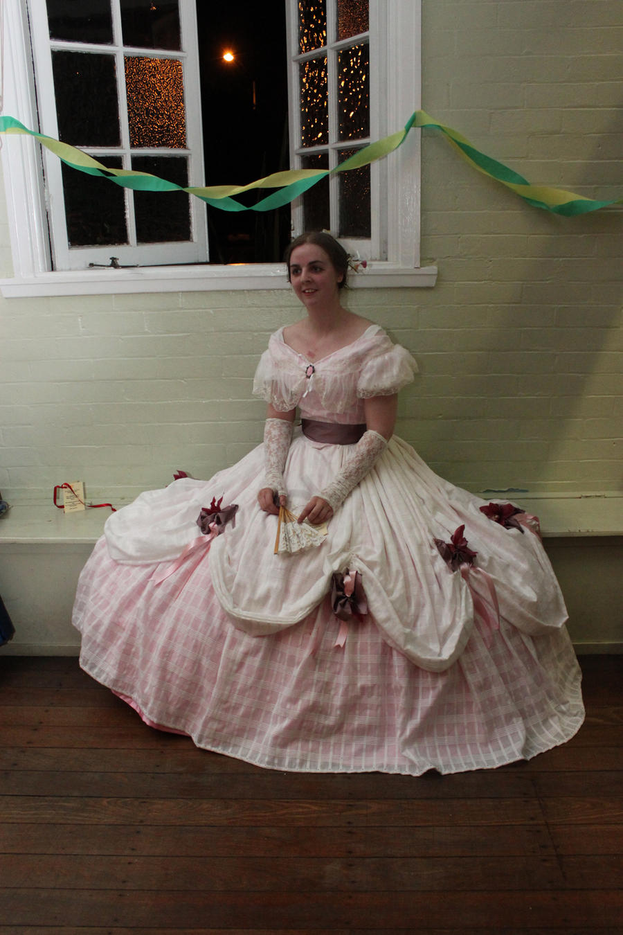 1850s Ball dress by Kathelyne