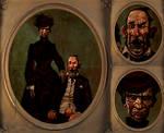 Bizarre Found Family Portrait