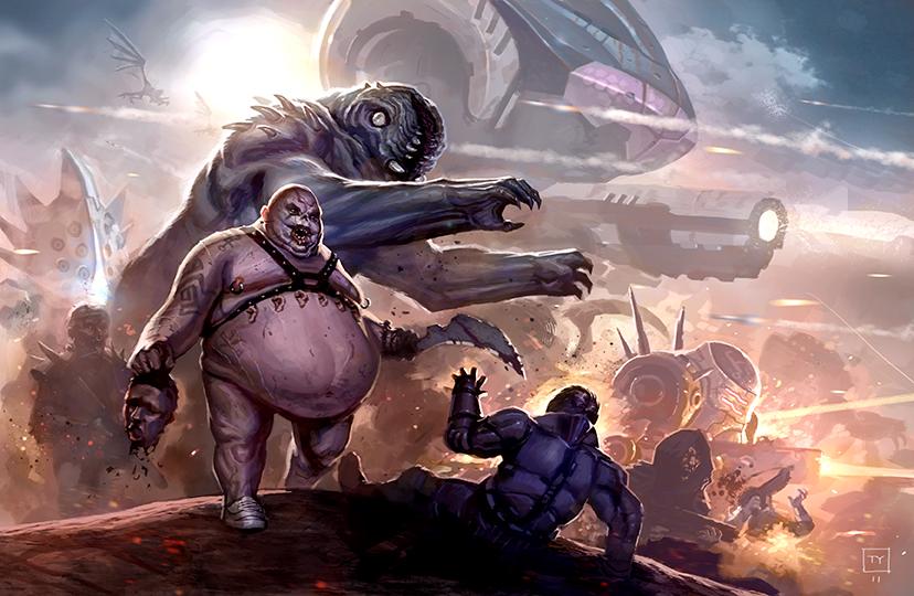 Cthulhutech: Battle for Oz by tycarey