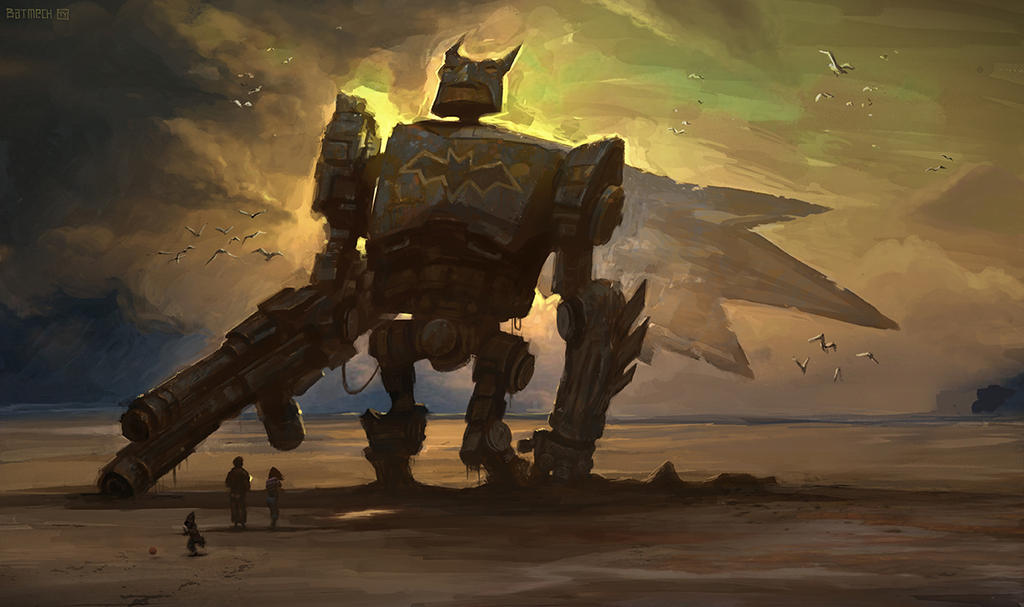 Batman Bot by tycarey