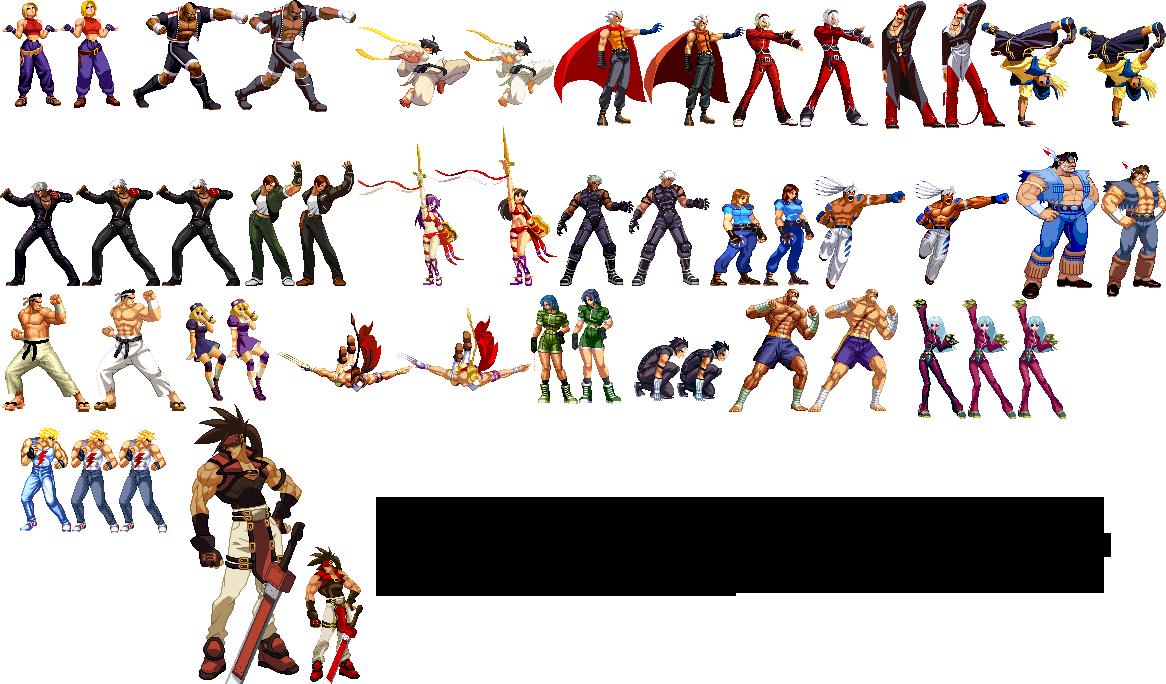 Capcom VS SNK Conversions by HadesDiosSupremo on DeviantArt