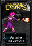 Annie The Dark Child - LoL by HadesDiosSupremo