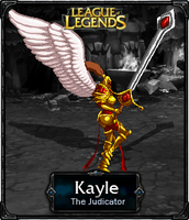 Kayle The Judicator - LoL by HadesDiosSupremo