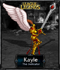 Kayle The Judicator - LoL by HadesDiosSupremo