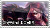 Shyvana Lover Stamp by HadesDiosSupremo