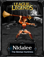 Nidalee The Bestial Mistress - LoL by HadesDiosSupremo