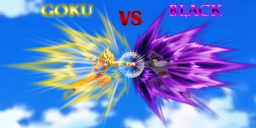 Goku vs Black - Fakeshot by HadesDiosSupremo