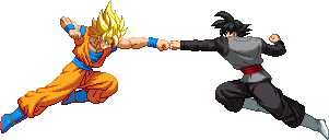 Goku vs Black by HadesDiosSupremo
