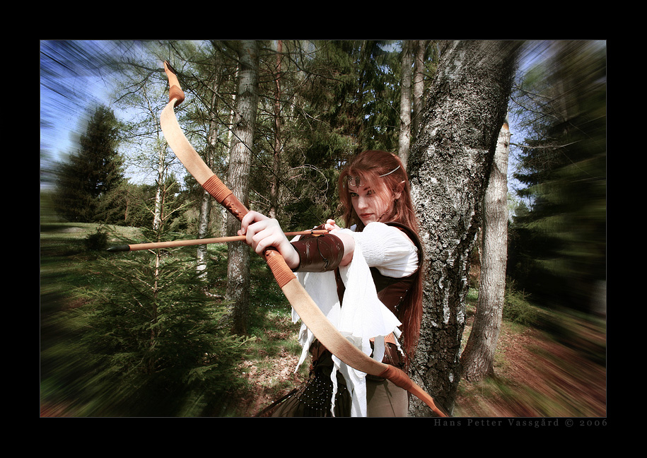 Elven Ranger Portrait Tathariel - elven ranger byElven Ranger Portrait
