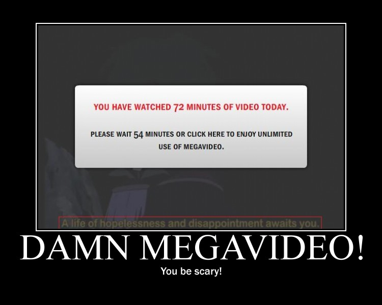 funny people megavideo. Megavideo Demotivational by