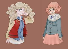 Ann and Haru
