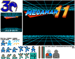 Mega Man 11 NES/Rockman 11 FC (W.I.P.)
