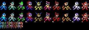 Mega Man 11 Copy Weapons 8-Bit