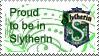 slytherin stamp by Cat-Noir