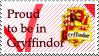 Gryffindor stamp by Cat-Noir