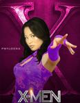 Psylocke (X-MEN first class poster)