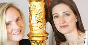 Kathryn Thomas (flute) and Lucy Wakeford (harp) 1 by Itsadequate
